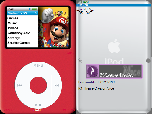 Thumbnail 1 for iPod (Red) Replica